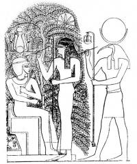 Tríada de Heliópolis. Ramesseum